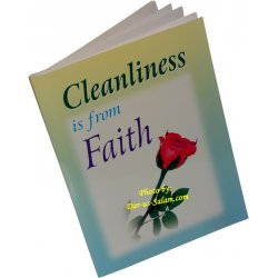 Cleanliness is from Faith