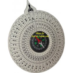 Qiblah Compass for Prayer Rug