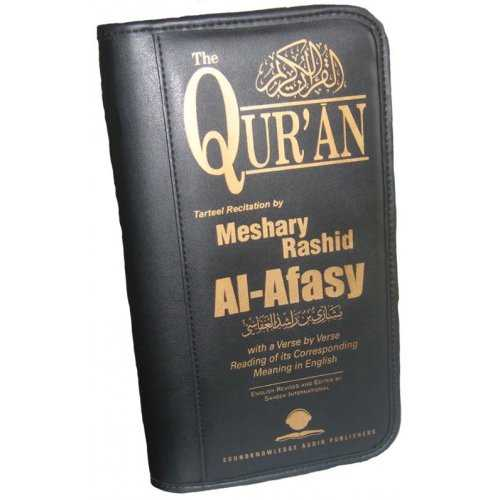 Qur'an Recitation by Al-Afasy with English Translation (46 CDs)