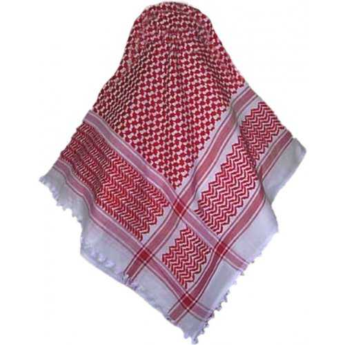 Shemagh / Ghutra (Red/White)