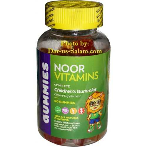 Children's Gummies by Noor Vitamins