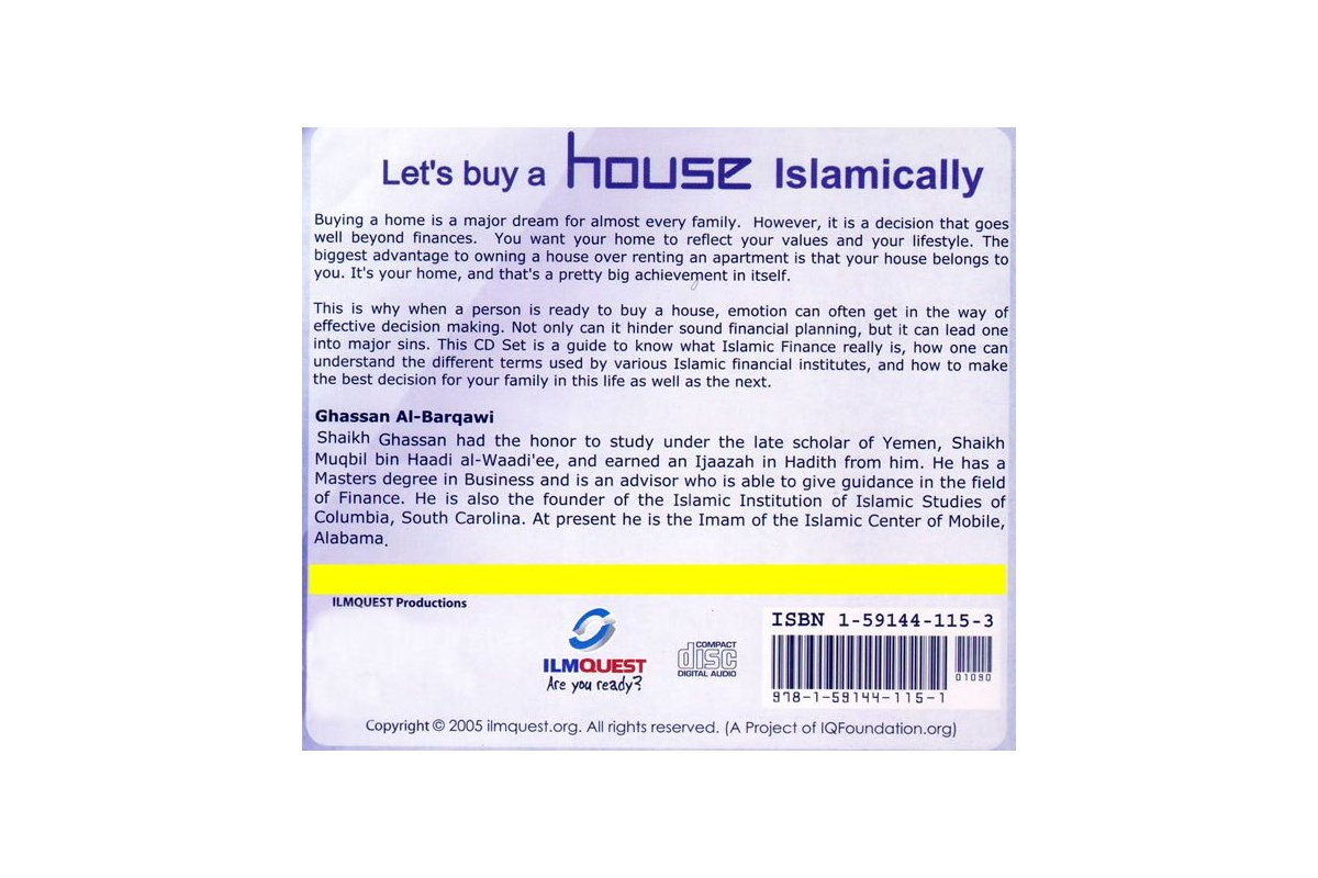 how to buy a house islamically