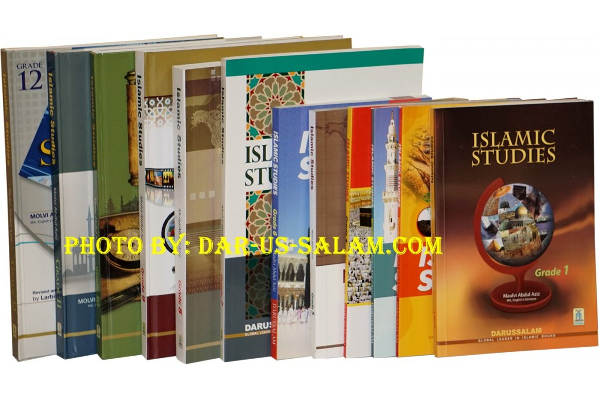 Islamic Studies Grades 1-12 (Set of 12 Books) - Dar-us-Salam