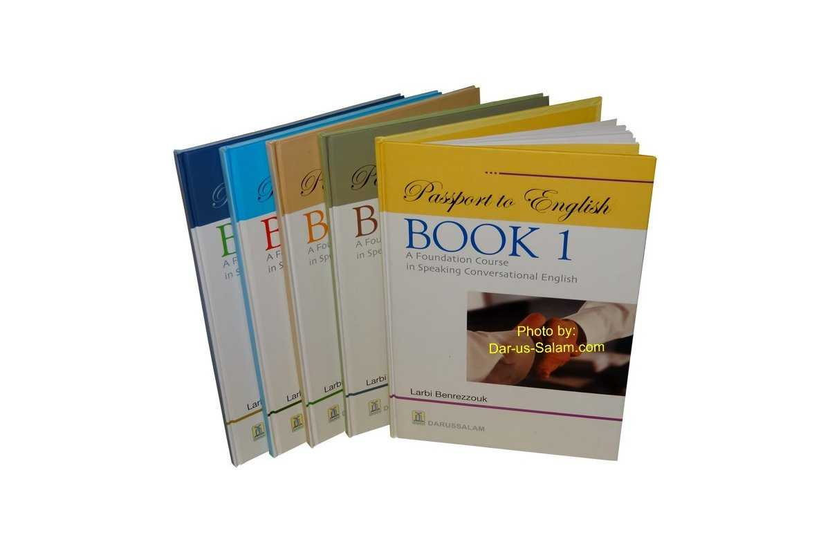 Passport to English (Book 1, 2, 4, 5)