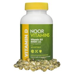 Halal Vitamin D3 5000 IU (60 Softgels)