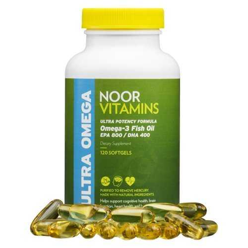 Halal Omega 3 Fish Oil (120 Softgels)