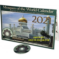 Mosques of the World Calendar 2021 + Bonus MP3 CD